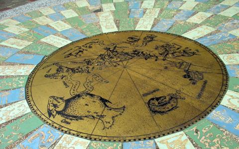 圖片2: 西方星象圖