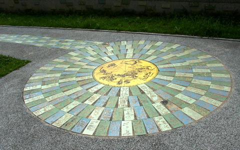 圖片1: 西方星象圖 (作品照片共3張)