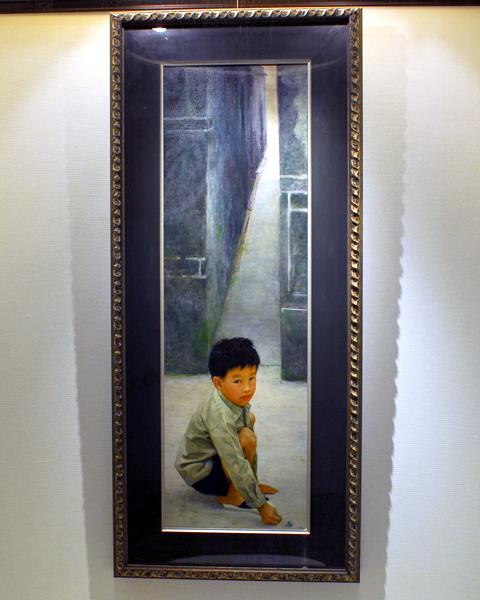 圖片1: 童年 (作品照片共2張)