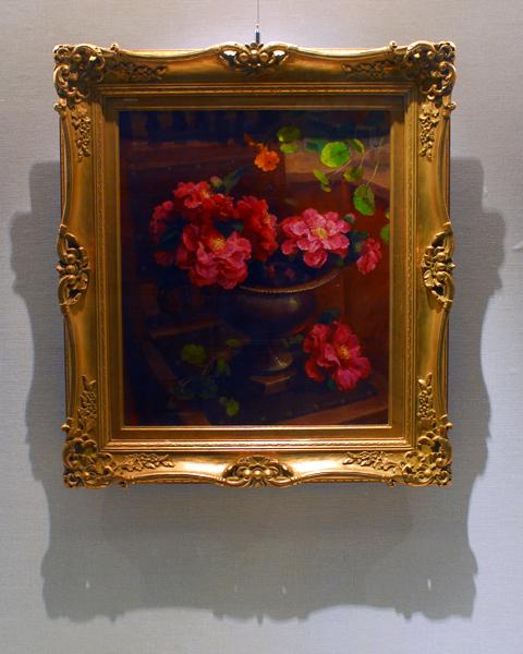 圖片1: 銅盆裡的花 (作品照片共1張)