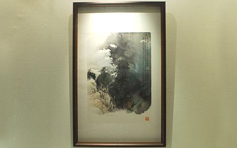 圖片1: 奇峰出雲 (作品照片共1張)