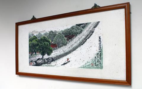 圖片1: 乘溪河面 (作品照片共1張)