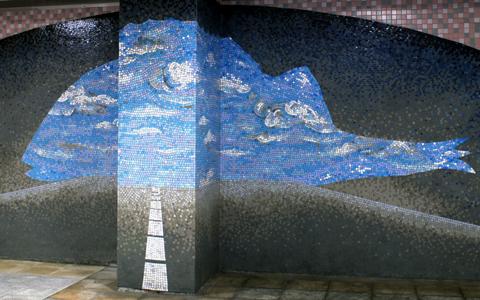 圖片1: 鱗鱗波光-隧道 (作品照片共2張)