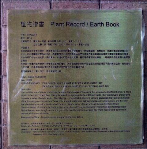 圖片12: A案:植物譜書  Plant Record / Earth Book
