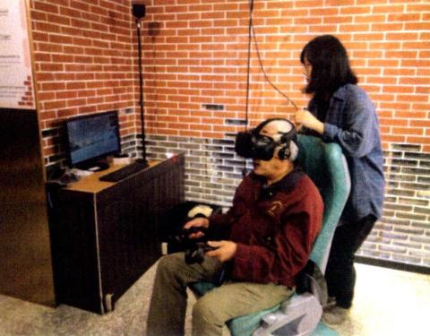 圖片4: A案---疊合現在及過去-臺北西區虛擬實境Beimen VR Tour     (Seeing the Past through the Present: Virtual Reality Tour of West Taipei-the North Gate)