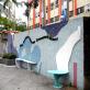 縮圖1: A案:「校門公共空間」-春風化雨牆 Wall of Nourishment (作品縮圖共4張)